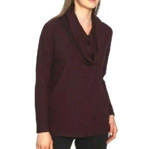 1.STATE Convertible Neckline Cozy Soft Tunic